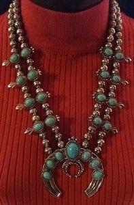 Navajo Inspired Amulet